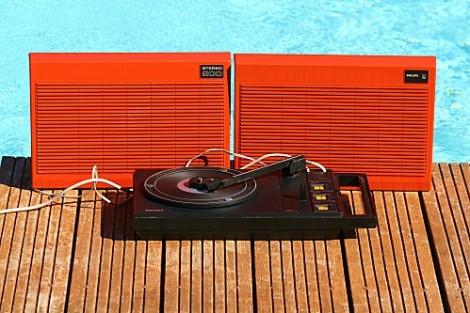 vintage tourne disque - Copie
